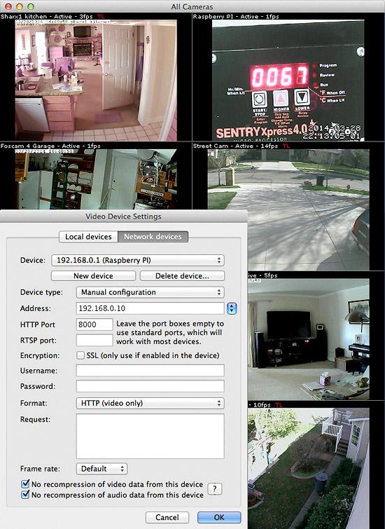 Raspberry Pi Camera To Securityspy The Ben Software Blog